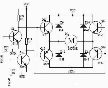 智能小车pwm控制直流电机_电工_电子_电路设计_原理图